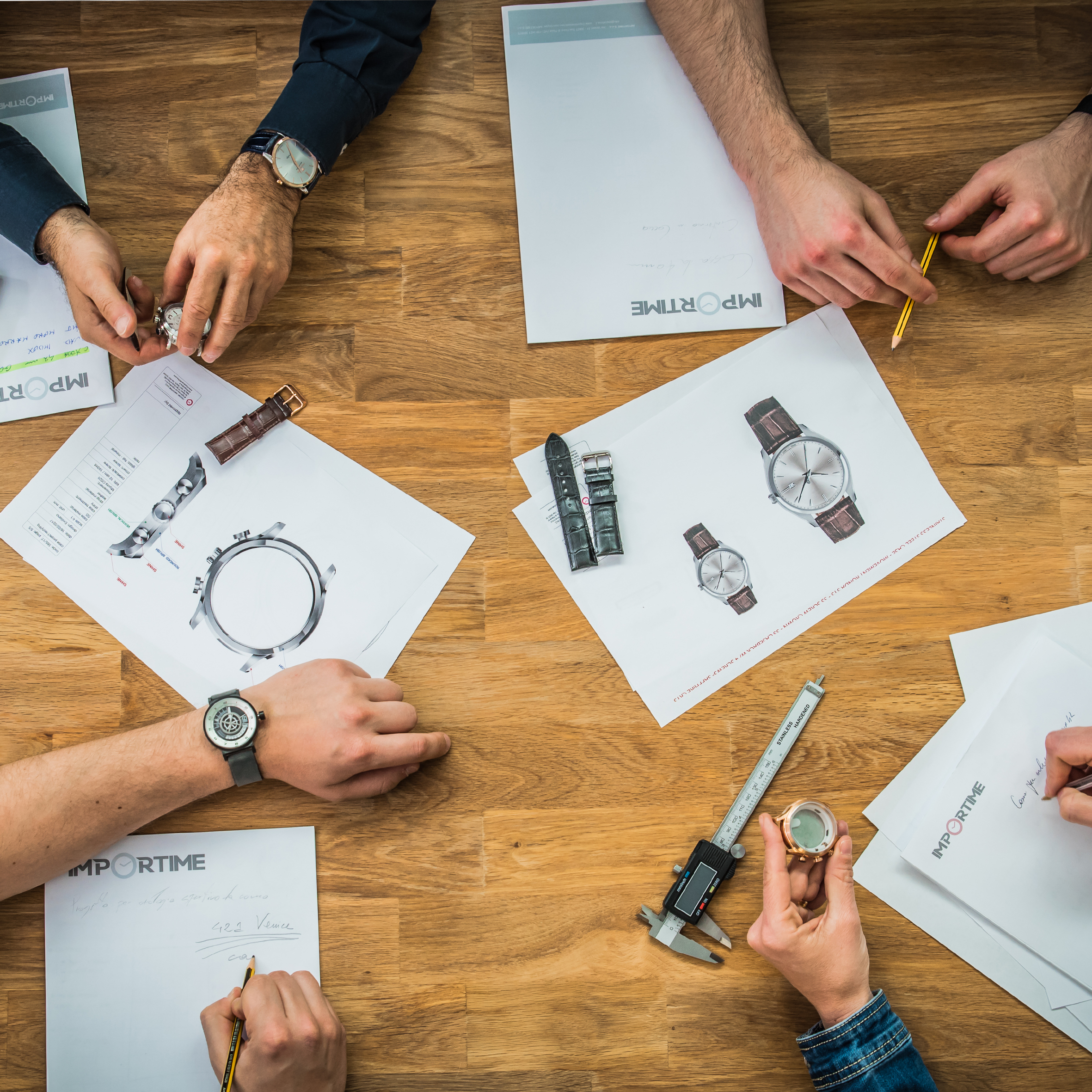 Produzione e personalizzazione orologi - Importime Watches
